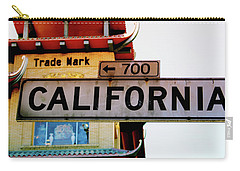 Corner Of California- Art By Linda Woods Carry-all Pouch