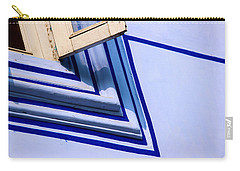 Cornering The Blues Carry-all Pouch by Prakash Ghai
