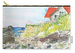 Cornfield Point Old Saybrook Carry-all Pouch