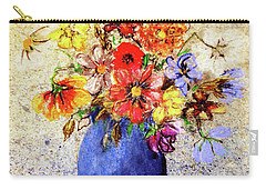 Cornucopia-still Life Painting By V.kelly Carry-all Pouch