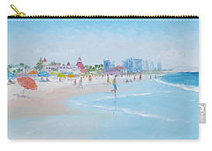 Coronado Beach San Diego Carry-all Pouch
