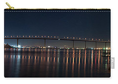 Carry-all Pouch featuring the photograph Coronado Bridge San Diego by Gandz Photography