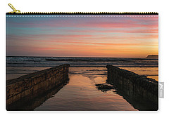 Coronado Pier Remains Sunset Carry-all Pouch
