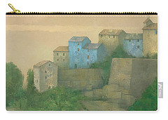 Corsican Hill Top Village Carry-all Pouch
