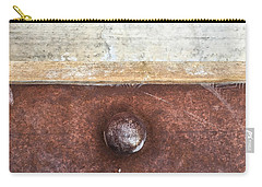 Corten And Concrete Carry-all Pouch by Stan  Magnan