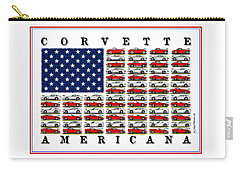 Corvette Americana Carry-all Pouch