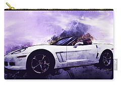 Corvette Convertible Pen And Watercolor Carry-all Pouch