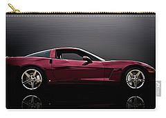 Corvette Reflections Carry-all Pouch by Douglas Pittman