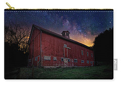 Carry-all Pouch featuring the photograph Cosmic Barn by Bill Wakeley