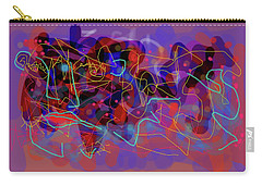 Cosmic Beast Carry-all Pouch by Maxim Komissarchik