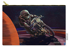 Cosmic Cafe Racer Carry-all Pouch by Sassan Filsoof