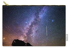 Carry-all Pouch featuring the photograph Cosmic Caprock by Stephen Stookey