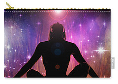 Carry-all Pouch featuring the photograph Cosmic Enlightenment... by Nina Stavlund