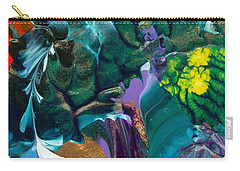 Cosmic Feathered Webbed Universe Carry-all Pouch