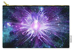 Cosmic Heart Of The Universe Mosaic Carry-all Pouch by Shawn Dall