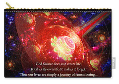 Cosmic Inspiration God Source 2 Carry-all Pouch