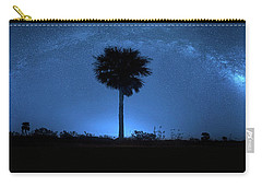Carry-all Pouch featuring the photograph Cosmic Night by Mark Andrew Thomas