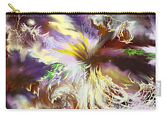 Carry-all Pouch featuring the digital art The Flowering Of The Cosmos by Amyla Silverflame