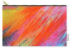 Cosmic Soiree De Colores - Abstract Painting Carry-all Pouch