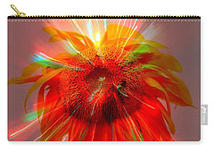 Cosmic Sunflower Carry-all Pouch