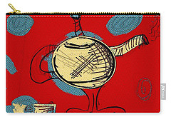 Cosmic Tea Time Carry-all Pouch by Jason Nicholas