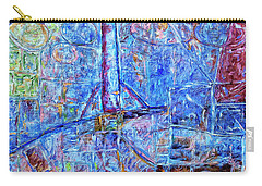 Carry-all Pouch featuring the painting Cosmodrome by Dominic Piperata