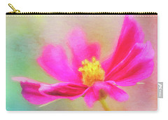 Cosmos Flowers Love To Dance Carry-all Pouch