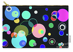Cosmos Night Carry-all Pouch by Beth Saffer