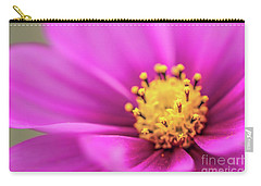 Carry-all Pouch featuring the photograph Cosmos Pink Sensation by Sharon Mau