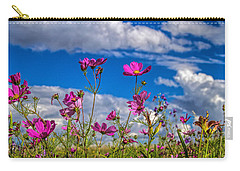 Cosmos Sky Carry-all Pouch by Alana Thrower