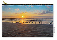Coastal Sunrise Carry-all Pouch by Dave Files