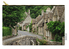 Cotswolds Village Castle Combe Carry-all Pouch by IPics Photography