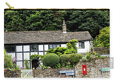 Traditional Cheshire Cottage At The Crossroad Carry-all Pouch