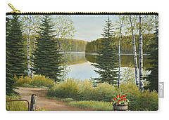 Cottage Lane Carry-all Pouch