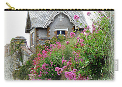 Cottage On The Hill Carry-all Pouch by Anne Gordon