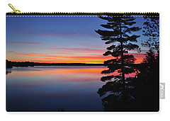 Cottage Sunset Carry-all Pouch by Keith Armstrong