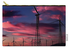 Carry-all Pouch featuring the photograph Cotton Candy by Chris Tarpening