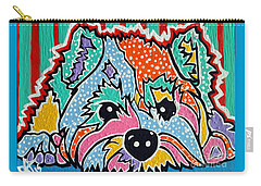 Cotton Candy Carry-all Pouch by Jackie Carpenter