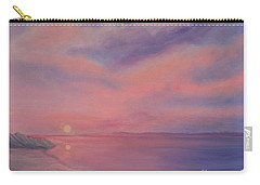 Cotton Candy Sky Carry-all Pouch by Holly Martinson