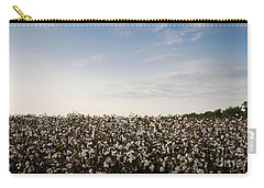 Cotton Field 2 Carry-all Pouch by Andrea Anderegg