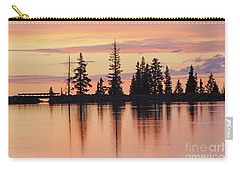Cottonwood Sunset Lake Reflections  Carry-all Pouch