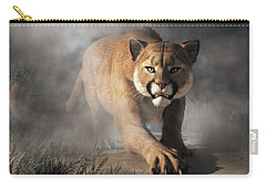 Cougar Is Gonna Get You Carry-all Pouch by Daniel Eskridge