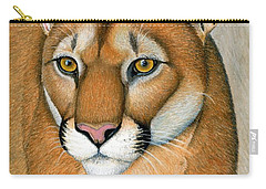 Cougar Portrait Carry-all Pouch