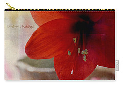 Carry-all Pouch featuring the photograph Count Your Blessings by Robin Dickinson