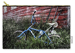 Carry-all Pouch featuring the photograph Country Bicycle by Brad Allen Fine Art