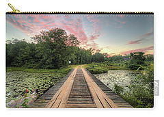 Country Bridges Carry-all Pouch by JC Findley