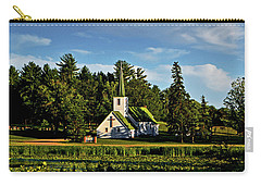 Country Church 003 Carry-all Pouch by George Bostian