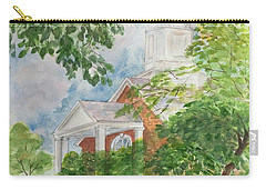 Country Church Carry-all Pouch by Lucia Grilletto