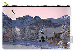 Country Church Carry-all Pouch by Methune Hively