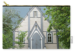 Country Church Carry-all Pouch by Rod Wiens